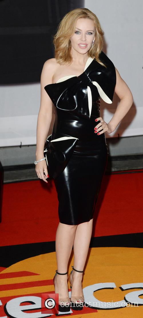 Kylie Minogue at Brit Awards