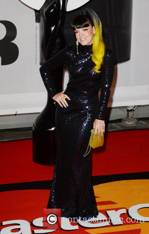 lily allen the brit awards brits 2014 4077309