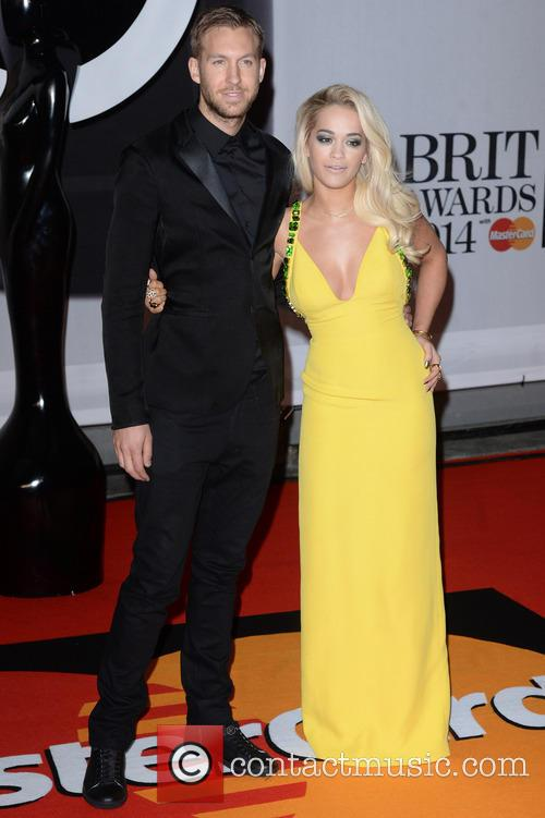 Rita Ora and Calvin Harris 7