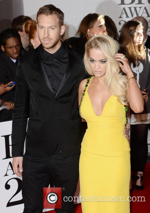 Rita Ora and Calvin Harris 8