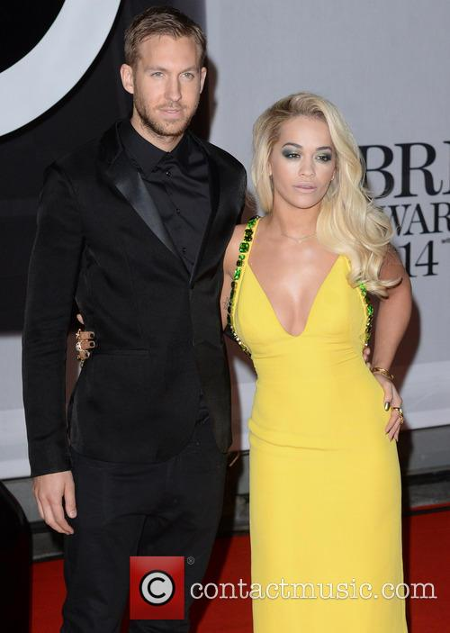 Rita Ora and Calvin Harris 9