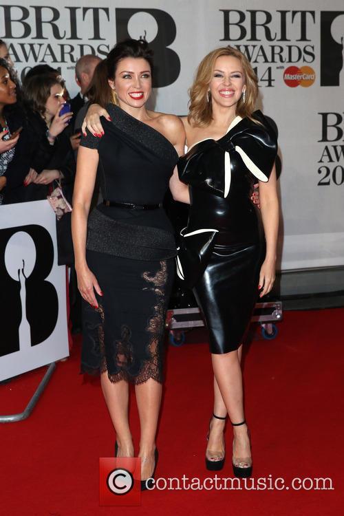Kylie Minogue, Dannii Minogue, The Brit Awards