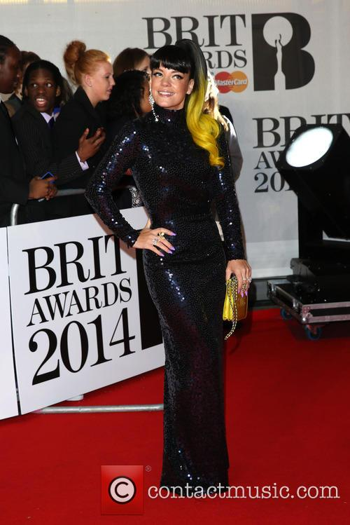 lily allen the brit awards brits 2014 4078016
