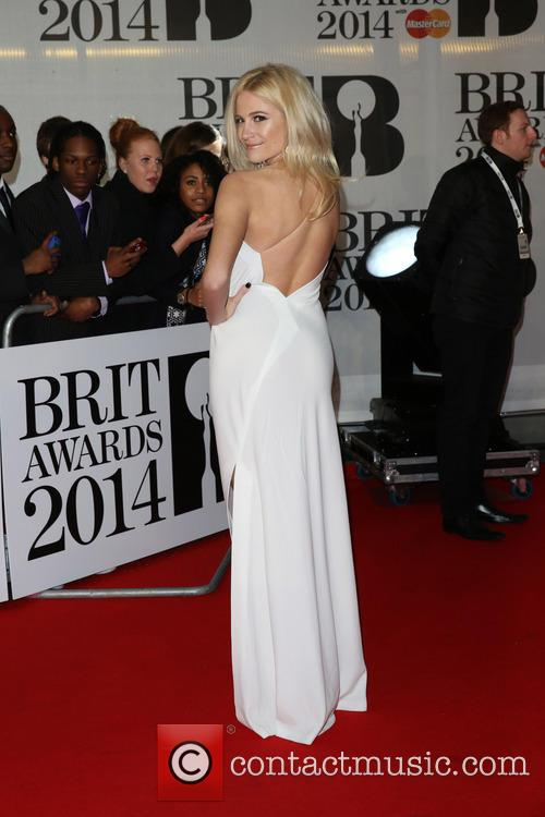 Pixie Lott at the Brit Awards
