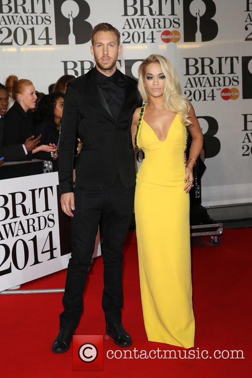 Rita Ora, Calvin Harris, The Brit Awards