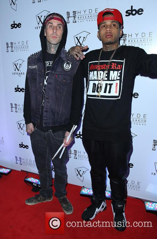Travis Barker and Kid Ink 8