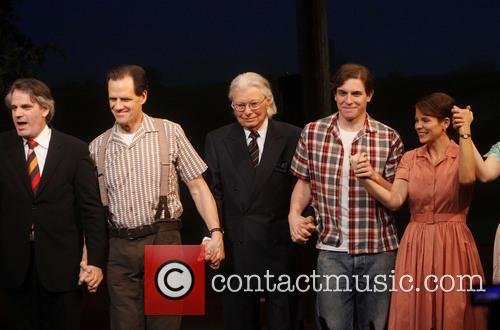 The Bridges, Bartlett Sher, Michael X. Martin, Robert James Waller, Derek Klena and Kelli O'hara 6