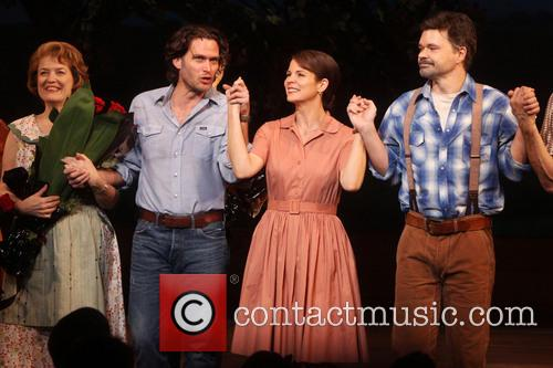 Cass Morgan, Steven Pasquale, Kelli O'hara and Hunter Foster 1