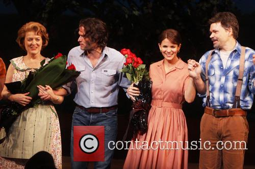 Cass Morgan, Steven Pasquale, Kelli O'hara and Hunter Foster 2