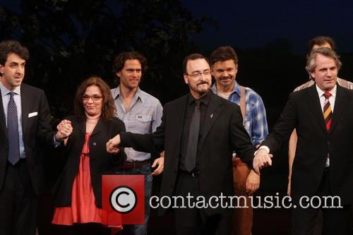 Jason Robert Brown, Marsha Norman, Steven Pasquale, Tom Murray, Hunter Foster and Bartlett Sher 2