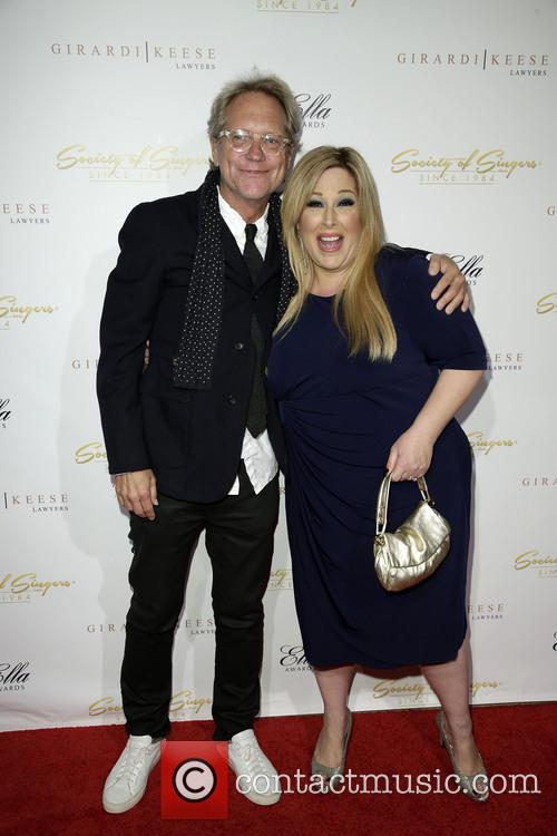 Gerry Beckley and Carnie Wilson 1