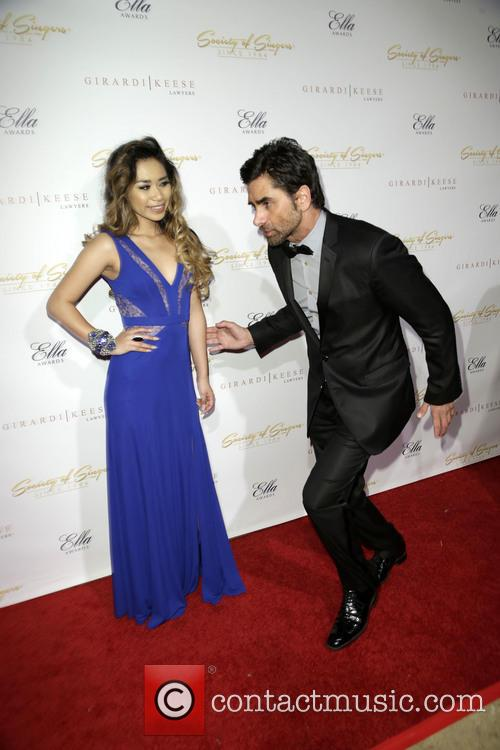 Jessica Sanchez and John Stamos 4