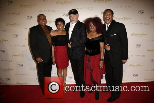 The Waters Family, Mike Love, Oren Waters, Maxine Waters, Julia Waters and Luther Waters