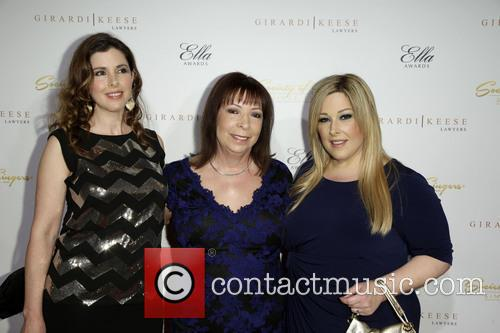 Wendy Wilson, Marilyn Rovell and Carnie Wilson 1