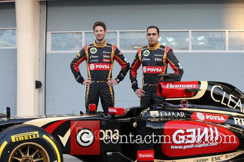 Romain Grosjean and Pastor Maldonado 1