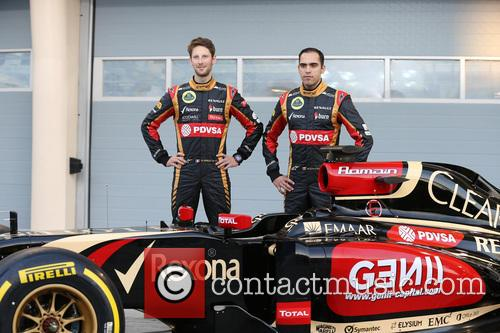 Romain Grosjean and Pastor Maldonado 2