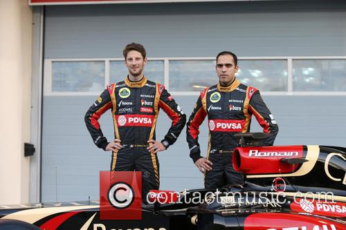 Romain Grosjean and Pastor Maldonado 3