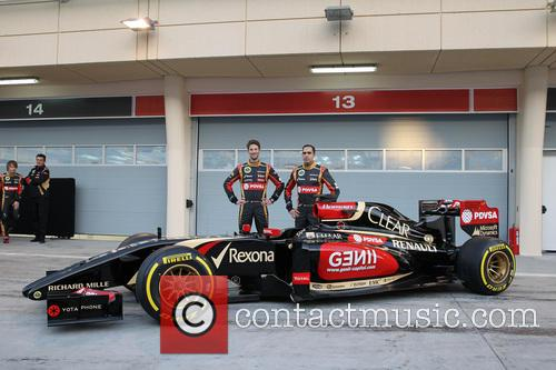 Romain Grosjean and Pastor Maldonado 5