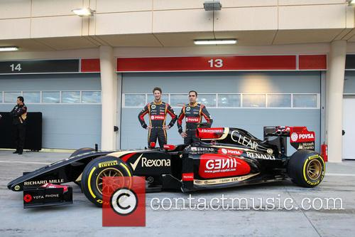 Romain Grosjean and Pastor Maldonado 7