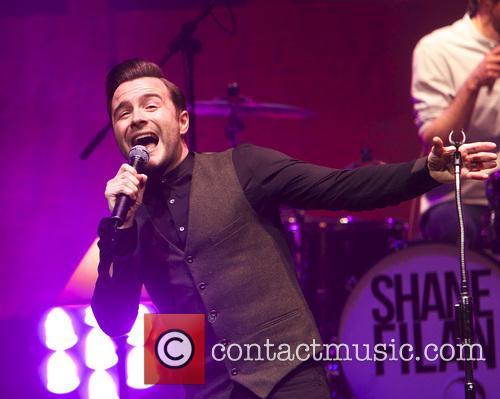 Shane Filan performing live in concert