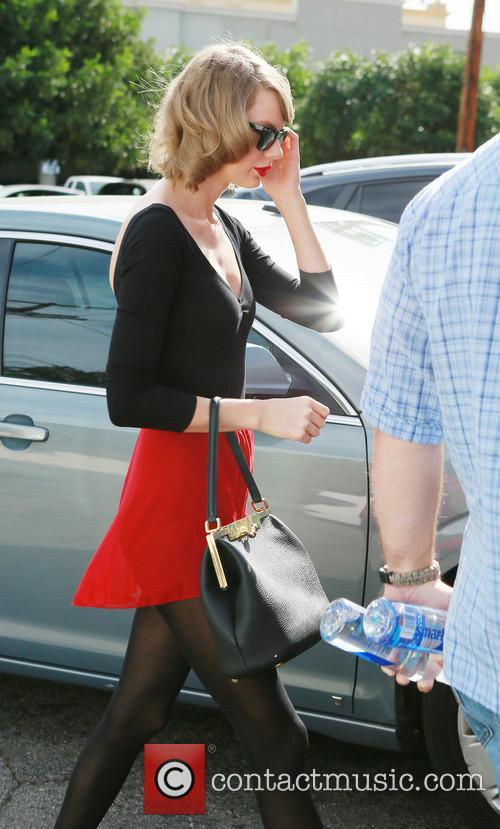 Taylor Swift wears Red Tutu