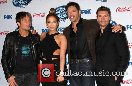 Keith Urban, Jennifer Lopez, Harry Connick Jr and Ryan Seacrest 4