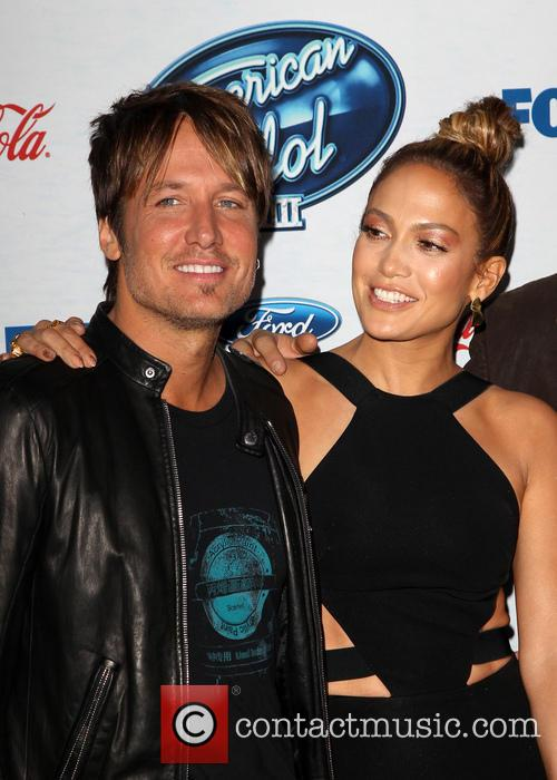 Keith Urban and Jennifer Lopez 2