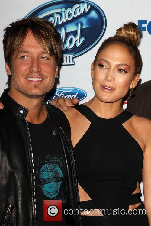 Keith Urban and Jennifer Lopez 4