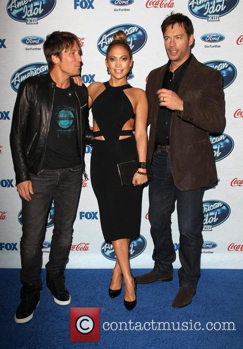 Keith Urban, Jennifer Lopez, Harry Connick and Jr. 9