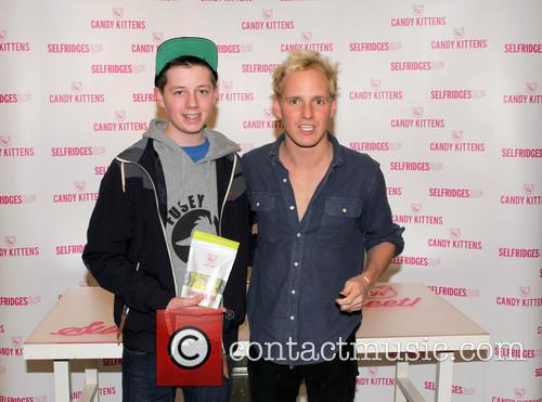 Jamie Laing launches Candy Kittens at Selfridges