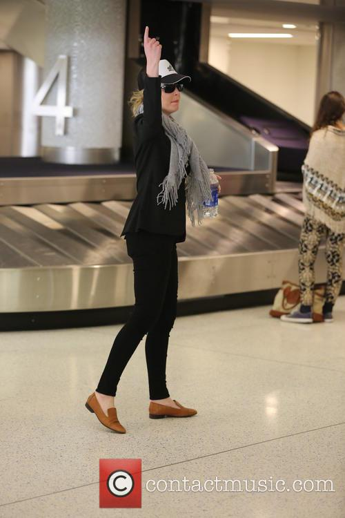 Katherine Heigl At LAX