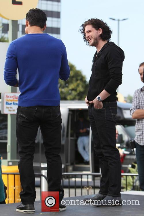 Kit Harington and Mario Lopez 3