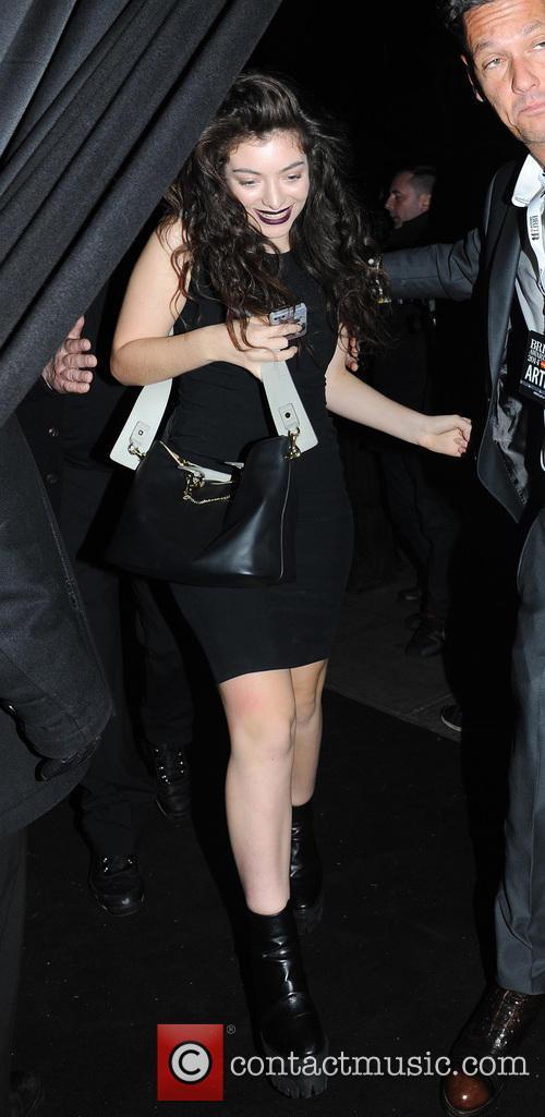 lorde lorde leaving the box nightclub in 4077757