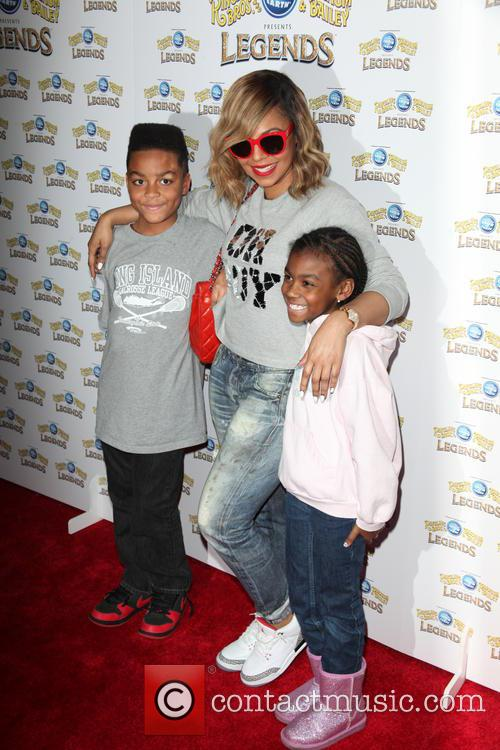 Ashanti and Family 6