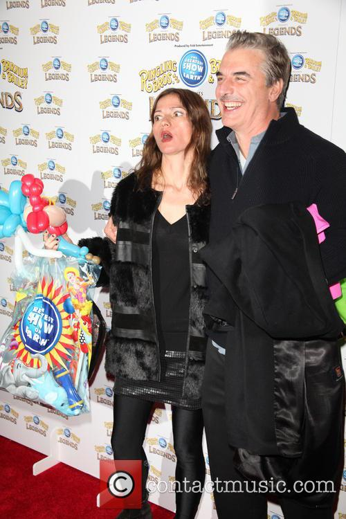Jill Hennessy and Chris Noth 2