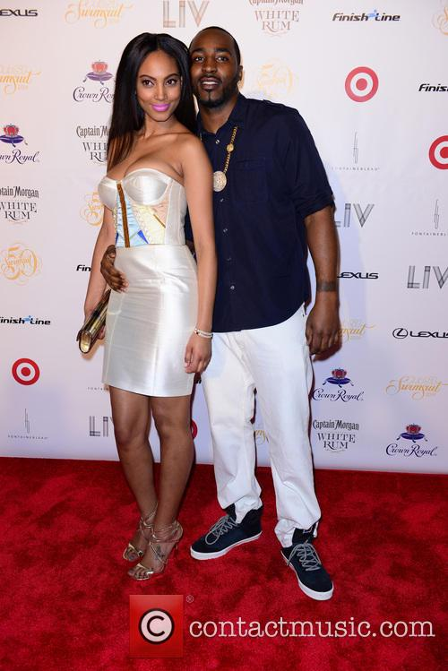 Ariel Meredith and Hakeem Nicks 3