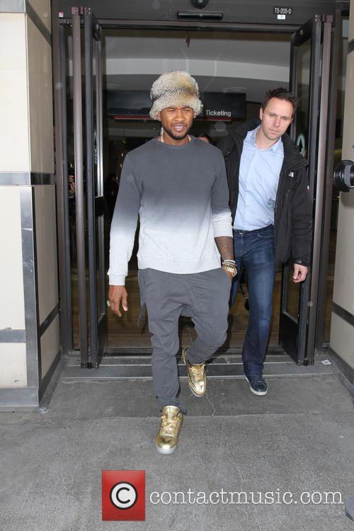 Usher at LAX