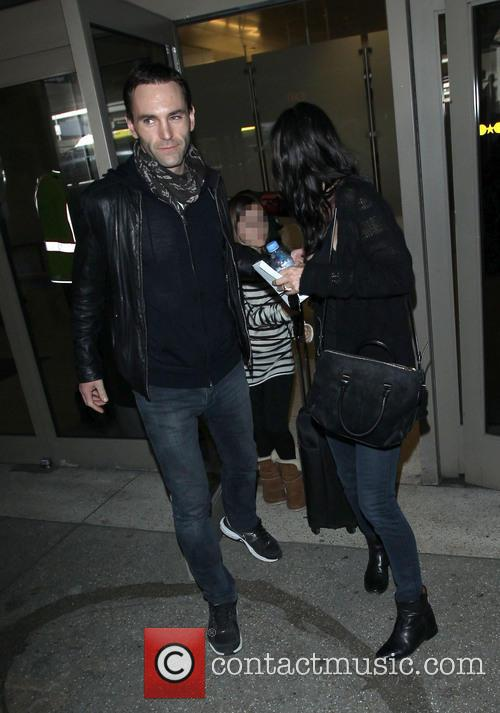 Johnny Mcdaid, Courteney Cox and Coco Arquette 2