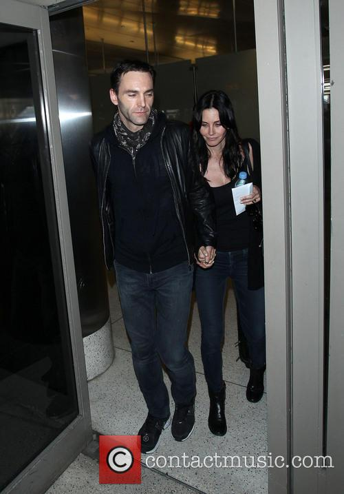 Johnny Mcdaid and Courteney Cox 4