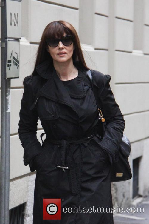 Monica Bellucci seen out and about in Milan