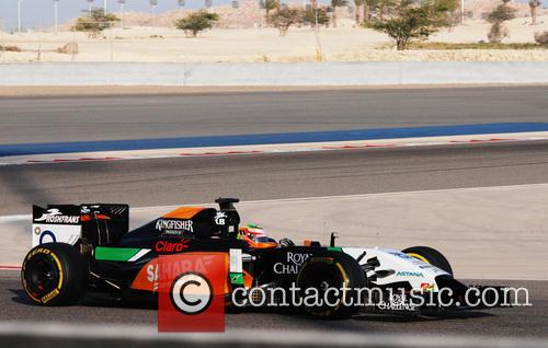 Sergio Perez, Mexico Force India-mercedes and Team Force India 2014 - 3