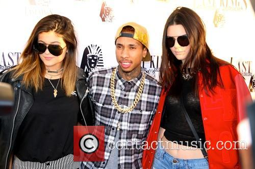 Kylie Jenner, Tyga and Kendall Jenner 2