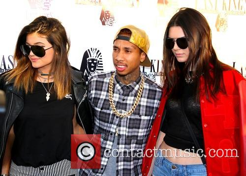 Kylie Jenner, Tyga and Kendall Jenner 7