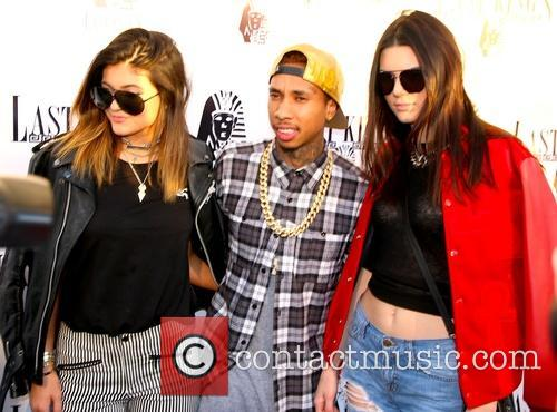 Kylie Jenner, Tyga and Kendall Jenner 8