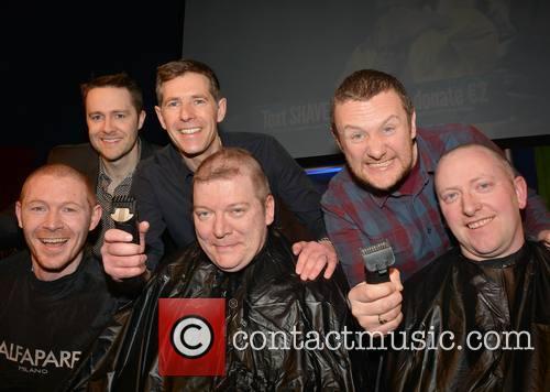 Keith Barry, Dermot Bannon, Pj Gallagher (f) Colin Clarke, Paul O'neill and Conor Doyle 2