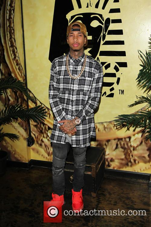 Tyga at the Exclusive Press Preview Of Tyga's Last Kings Flagship Store