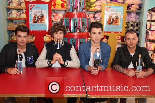 Union J at Hamleys Toy Store