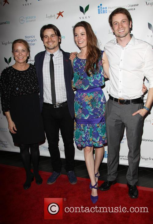 Jason Ritter, Nancy Morgan, Carly Ritter and Tyler Ritter 3