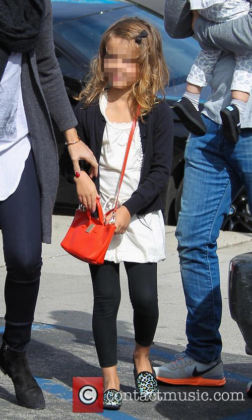 Jessica Alba, Honor Warren and Cash Warren 4