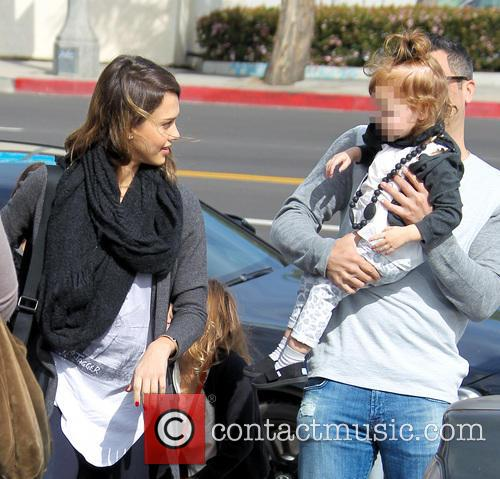 Jessica Alba, Haven Warren and Cash Warren 9